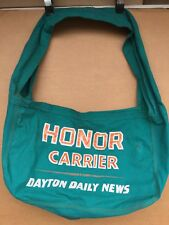 Vintage 1970s-80s Dayton Daily News HONOR CARRIER Paperboy Newsboy Shoulder Bag