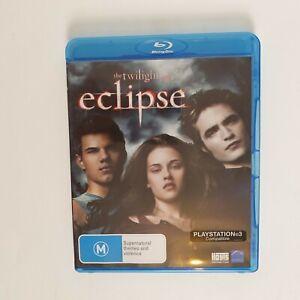 Twilight Eclipse Bluray Movie - Free Postage Blu-ray Teen Drama Robert Pattinson