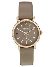 Marc Jacobs Baker Women's Silver Case Wristwatches