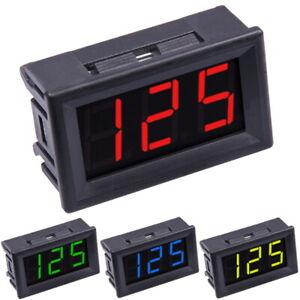 70-380V AC Voltmètre LED Afficher Module Panneau Numérique Volt Mètre Testeur