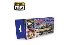 AMMO OF MIG A.MIG-7159 Modern USA Army Colors 6x17ml