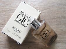 Armani Aqua di Gio Homme Absolu Eau de Parfum Miniatur 5 ml ovp