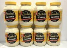 Duke's Real Sugar Free Mayonnaise (8) 32 oz - FRESH BY DEC/2020 FREE SHIPPING!!