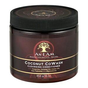 As I Am Coconut CoWash Cleansing Conditioner, 16 oz