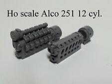 Ho scale ALCO 251 12 CYL prime mover