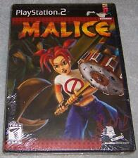 Malice - PlayStation 2 PS2 Game NEW SEALED