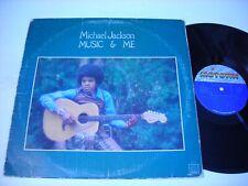 Michael Jackson Music & Me 1973 Stereo LP