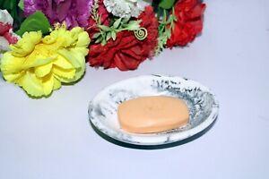 Draining Soap Dish Premium Resin Soap Holder For Bathroom Kitchen Laundry Home