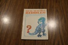 Real Science Riddles By Rose Wyler Pictures by Talivaldis Stubis 1971
