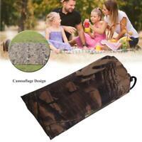 Camo Carpa Tarp Sheet Canopy Toldo Cubierta de lluvia Camping Impermeable Set