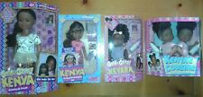 NEW Kenya, Keyara, Kaylee & Keyara African American Dolls Set of 5 MIB Realistic