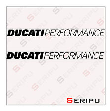 X2 DECAL DUCATI PERFORMANCE DECAL  VINILO RECORTE PEGATINA MOTO GP. ENDURO