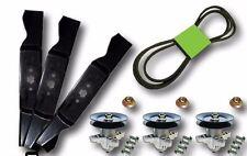 "Cub Cadet MTD 54"" SLT 1554 SLTX 1054 Rebuild Kit Blades Spindles Belt"