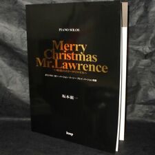 Merry Christmas Mr Lawrence Movie Film Piano Score Book