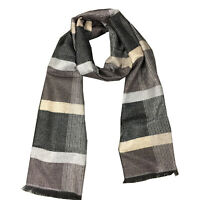 Men's Long Cashmere Feel Scarf, Fall and Winter Warm Scraf