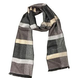 Men's Winter Scarf Warm Long Cashmere Feel Scarf, Fall and Winter Fashion Scraf