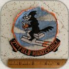 """VTG 4"""" USAF 7th Field Maintenace Squadron Patch Jacket Carswell AFB 50s 60s"""