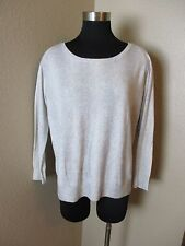 Joie Top Blouse Long Sleeve Reptile Print Viscose Gray White Size Small S