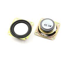 2pcs 2 inch 4 Ohm 3W 52MM Audio Speaker DIY Mini Stereo Box Multimedia SpeakerOX