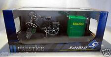 1966 Solex Pushbike & Pump - 1:10 diecast scale model