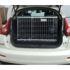 PET WORLD NISSAN JUKE SLOPING CAR DOG BOOT CAGE PUPPY TRAVEL SAFETY CRATE PET