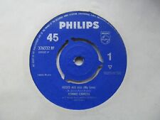 """RONNIE CARROLL Roses Are Red (My Love) UK 7"""" EX Cond"""