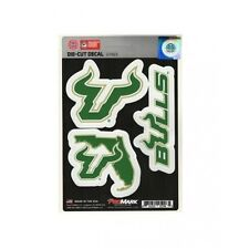 south florida bulls ncaa college sticker vinyl decal set made in usa