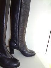 Stiefel von FERRE Milano, Gr 37, Leder, schwarz