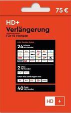 HD+ Karte-Verlängerung für 12 Monate HD TV Empfang