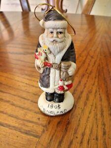 "Porcelain Santas From Around The World 4 3/4""  Figure 1905 ENGLAND"