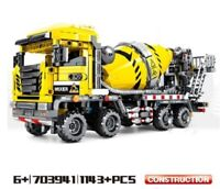 Lego 1143pcs Building Blocks Engineering Technic Machine Car Compatible Gifts