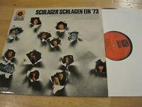 LP Schlager schlagen ein '73 Heino Gitte Marion Vinyl Emi Hörzu SHZE 382