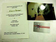Enid Blyton Secret Series 1997 Invitation to Nick Riera Actor Celebrate series