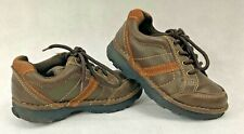 OshKosh Bgosh Boys Shoes Sneakers Brown Man Made Laces Toddler size T8