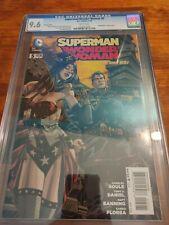 Superman Wonder Woman #5 1:25 Panosian Steampunk Variant CGC 9.6 Low Print