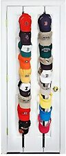 Hat Rack Wall Mount Stand Storage Baseball Cap Rack Organizer Hold Up to 18 Caps