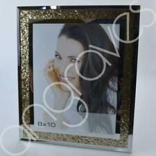 Gold Diamond Crush Photo Frame (8 x 10) Photoframe Picture Glitter Sparkle