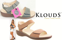 Klouds shoes - Orthotic friendly comfort leather Sandals Ariel
