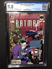 Batman Adventures Annual 1 Harley Quinn Joker CGC 9.8