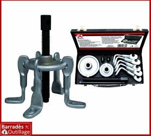 Extracteur Arrache tambour de frein, cardan, ... Pour roue de 3 à 6 trous