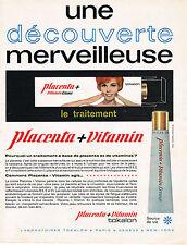 PUBLICITE ADVERTISING 114  1963  TOKALON  cosmétiques