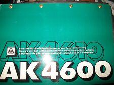 ATLAS Grue camion AK4600 AK4610 : catalogue de pièces