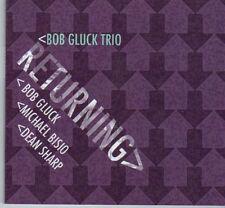 (DX436) Bob Gluck Trio, Returning - 2011 CD