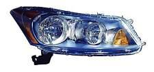 New Honda Accord sedan 2008 2009 2010 2011 2012 right passenger headlight light