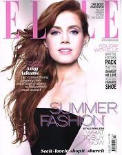 ELLE UK July 2013 Amy Adams NATY CHABANENKO Charlotte Free LEAH DE WAVRIN @NEW@