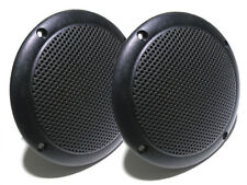 "2x 100V Line PA Speakers 4"" 6W Ceiling Speakers Retail Shop Cafe Home Wetroom"