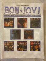 BON JOVI -- Guitar Anthology Authentic Guitar TAB Book