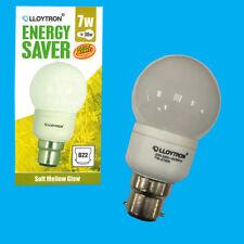 1x Lloytron 7w ( 30w) Low Energy CFL Golf GLS Light Bulb B22 Bayonet Cap BC