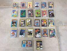 26 Sinclair ZX Spectrum 48K 128K Plus 2 - Games Cassette Tape