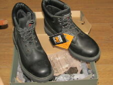 "NEW Mens Timberland Pro 6"" Black Boots TBO 12135 size 10  M/M w/ Box & Tags"